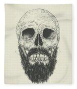 The Beard Is Not Dead Fleece Blanket