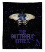 The Butterfly Effect II Fleece Blanket