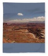 The Canyon Floor Below - 1 Fleece Blanket