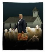 The Carpetbagger Fleece Blanket