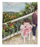 The Childrens Garden Fleece Blanket
