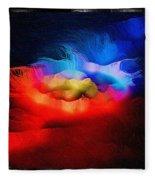 The Continuum Of Us - Breaking The Gridlock Of Hate Number 2  Fleece Blanket