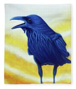 The Conversation Fleece Blanket