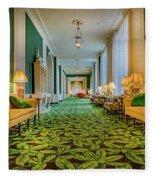 The Corridor Fleece Blanket