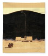 The Cottage At The Foot Of The Mountain - Digital Remastered Edition Fleece Blanket