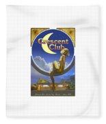 The Crescent Club, Siesta Key Fleece Blanket