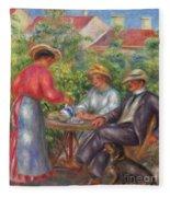 The Cup Of Tea, Or The Garden Fleece Blanket