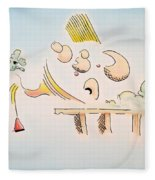 The Dawn Of Thought Fleece Blanket