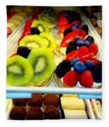 The Dessert Trays Fleece Blanket