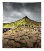 The Giants Causeway Fleece Blanket by Chris Cousins