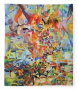 The Giving Of The Torah Fleece Blanket