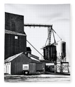 The Grain Elevator Fleece Blanket