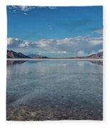 The Great Salt Lake Fleece Blanket