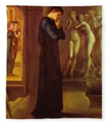 The Heart Desires The Pygmalion Series 1870 Fleece Blanket