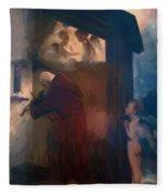 The Hermit 1884 Fleece Blanket