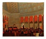 The House Of Representatives, 1822 Fleece Blanket