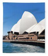The Iconic Sydney Opera House.  Fleece Blanket