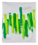 The Kingdom Of Green Fleece Blanket