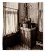 The Kitchen Water Pump Fleece Blanket