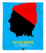 The Life Aquatic Fleece Blanket