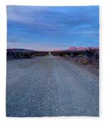 The Long Dirt Road Fleece Blanket