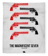 The Magnificent Seven Fleece Blanket