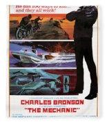 The Mechanic 1972 Fleece Blanket