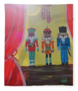The Nutcrackers Fleece Blanket