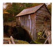 The Old Grist Mill Fleece Blanket