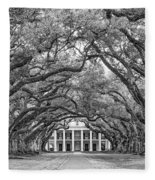 The Old South Version 3 Bw Fleece Blanket