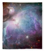 The Orion Nebula Fleece Blanket