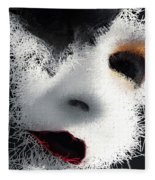 The Phantom Of The Arts Fleece Blanket by ISAW Company