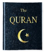 The Quran Fleece Blanket
