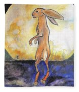 The Rabbit Prince Fleece Blanket