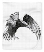 The Raven Fleece Blanket