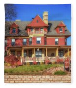 The Rittenhouse Inn Fleece Blanket