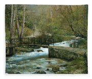 The River Psirzha Fleece Blanket