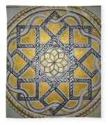 The Roman Mandala At Tomis Fleece Blanket