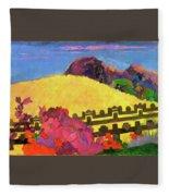 The Sacred Mountain - Digital Remastered Edition Fleece Blanket