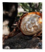 The Sleeping Pumpkinman  Fleece Blanket