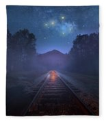 The Stars Of Locust Ridge Fleece Blanket