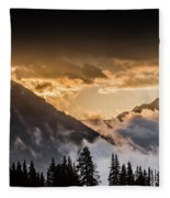 The Sun Is Coming Fleece Blanket