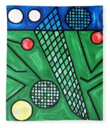 The Tennis Match Fleece Blanket