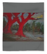 The Three Primary Colors Are The Unchanging Center Of The Stories Fleece Blanket