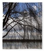 The Veil Of A Tree Fleece Blanket