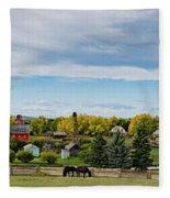 The View Fleece Blanket