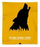 The Wolf Of Wall Street Fleece Blanket