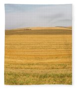 The Work Day Is Done Fleece Blanket