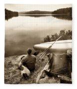 The World At Peace Fleece Blanket