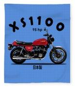 The Yamaha Xs1100 Fleece Blanket